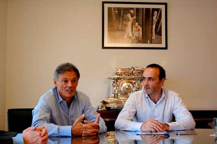 Cabrera y Caballero abordaron distintos temas de la industria fueguina.