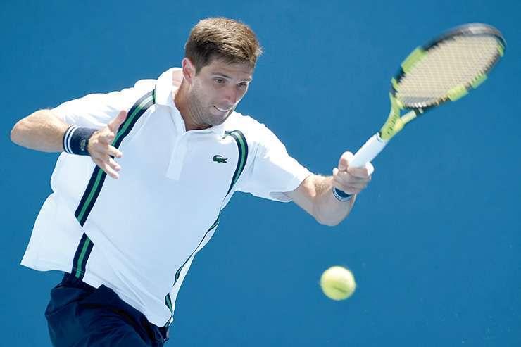 Fede Delbonis se metió en la segunda ronda del Abierto de Australia tras el abandono de Karlovic.