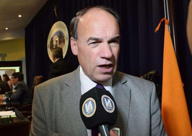 """""""Me gustaría que en otros lugares del país la oposición actuara como en Tierra del Fuego"""", dijo Blanco."""