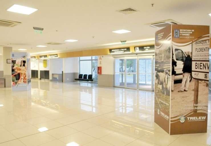 Aeropuerto de Trelew, donde se realizo el procedimiento.