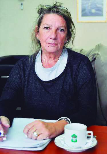 """""""Acá hay un Estado presente"""", dijo Teresa Fernández, secretaria de Hábitat y Ordenamiento Territorial."""