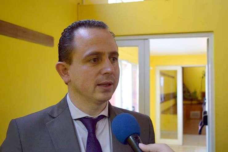 Ministro de Gobierno y Seguridad, Gastón Díaz.