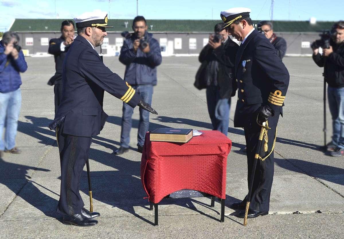 El CF Maximiliano Vega jura como comandante del BIM5.
