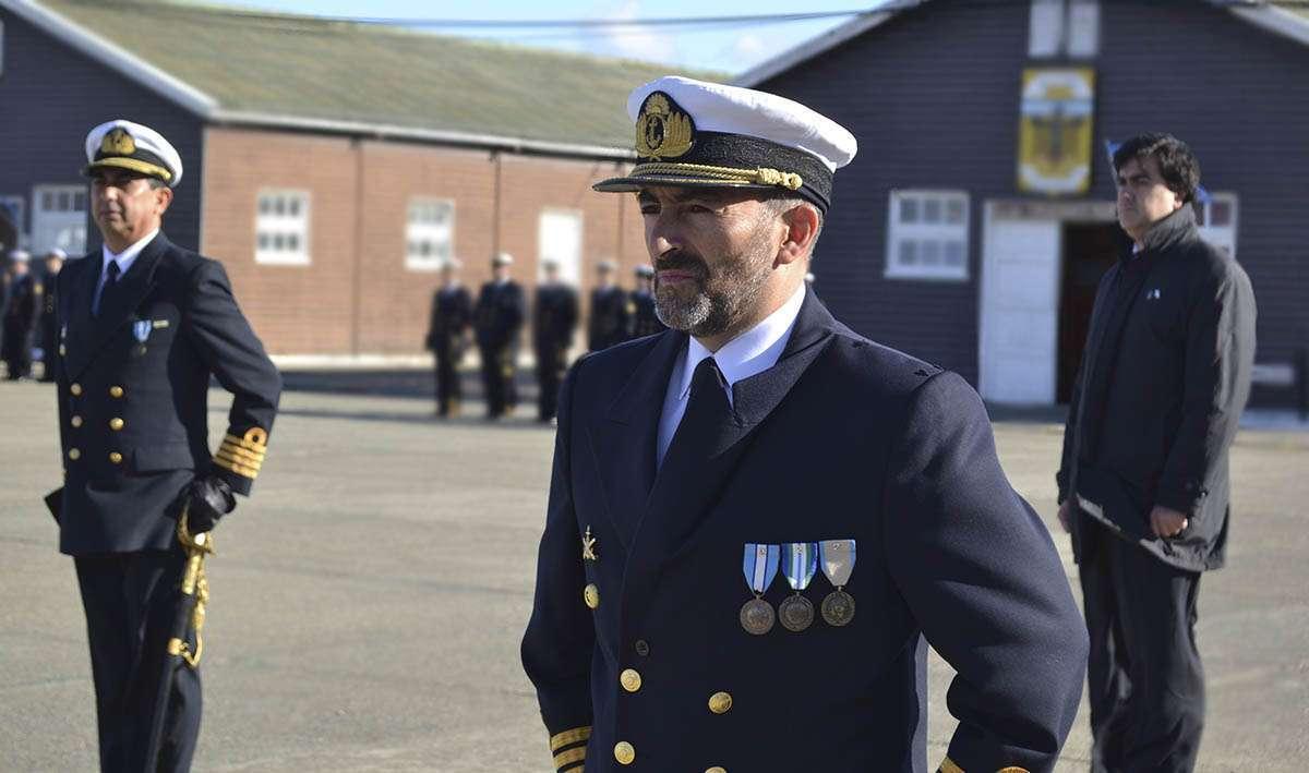 El capitán de Fragata Maximiliano Vega es el nuevo comandante del BIM5.