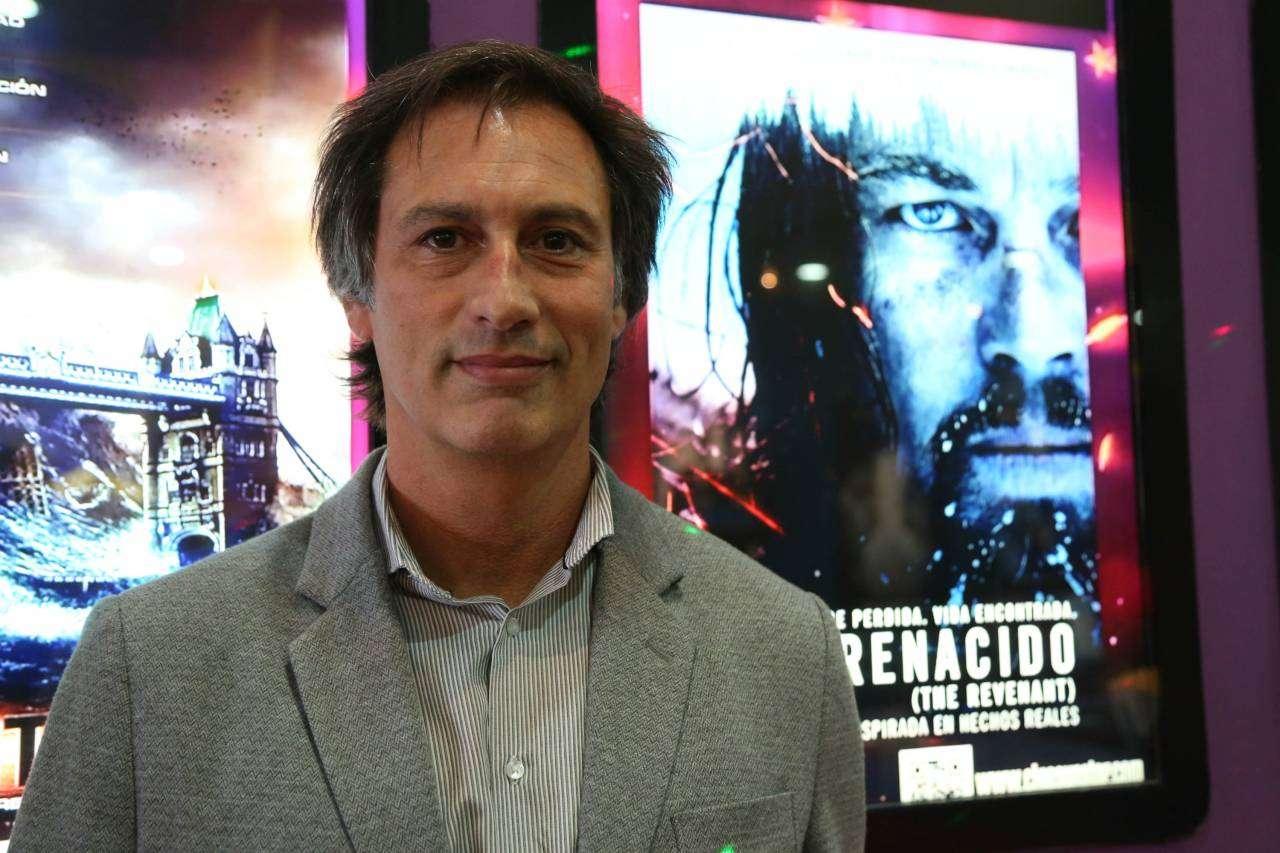 El gerente Comercial del Paseo del Fuego Shopping, Gustavo Bare, dijo que la nueva sala de cine será inaugurada en marzo.
