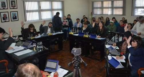 Sesión ordinaria. Varios proyectos fueron aprobados en forma unánime por los ediles de Río Grande.